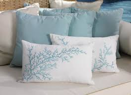 theme pillows bring the home coral pillows and seaside decor