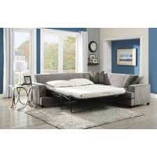 wildon home sleeper sofa picturesque gray fabric sleeper couch with pull out bed white