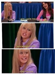 Hannah Montana Memes - lol this is hannah montana s song start all over in a madlib