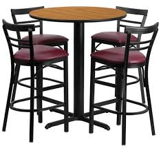 round bar table and stools commercial bar stools for nightclubs restaurants amp offices usa