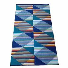 Modern Kilim Rugs Handmade Kilim Area Rug Hand Loomed Wool Egyptian Made Modern