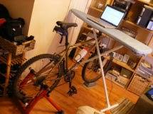 Diy Bike Desk Build Your Own Bike Desk For 4 99 Obesity Panacea