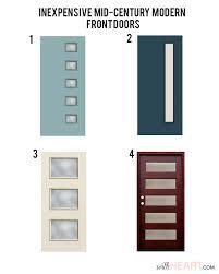 excellent mid century modern exterior doors 18 in home design with