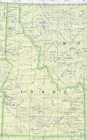 map of idaho idaho maps perry castañeda map collection ut library