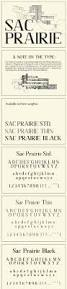 sac prairie modern serif typeface freebie supply