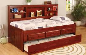 bedroom furniture sets bookshelf bed bookcase with drawers