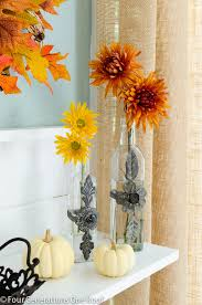 Fall Vase Ideas Fall Decorating Ideas Glass Vases Four Generations One Roof
