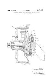 patent us3479051 spherical bearing king pin steering knuckle