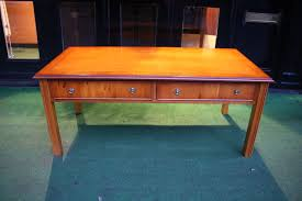 new chippendale yew coffee table