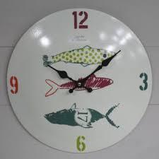 horloges cuisine horloge cuisine métal jardin d ulysse déco ø 34 cm horloges
