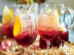 Southern Comfort Punch Recipe Cranberry Sangría Punch Recipe Southern Living