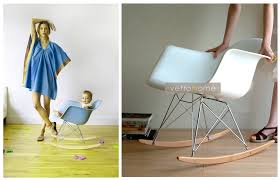 Eames Style Rar Molded Black Rar Eames Style Rocker Kids U2013 Vetrohome Modern Furniture Online Store