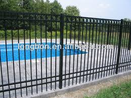 pvc coated ornamental wrought iron fence wholesale fence suppliers