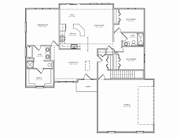 Luxury Ranch Floor Plans Ranch House Plans With Basement Elegant 3 Bedroom House Plans With