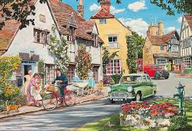 puzzle the postman u0027s round 2 gibsons g5030 500 pieces jigsaw
