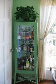 Glass Door Bar Cabinet Bar Wonderful Bar Cabinet Glass Doors Refreshing Modern Wood And