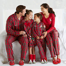 two new sleepwear sets for the whole family