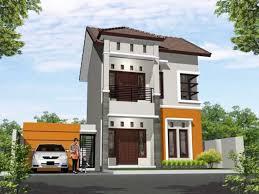 23 desain garasi mobil minimalis dengan pintu samping rumah ndik