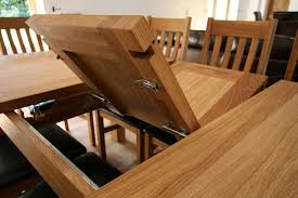 Oak Extending Dining Table Cool Design On Home Gallery Design - Home gallery design furniture