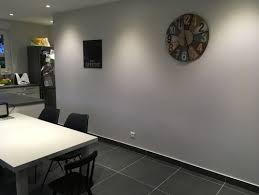 cuisine blanche mur gris quelle couleur de mur pour cuisine blanche avec sol gris