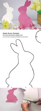 easter bunny decorations best 25 easter bunny template ideas on easter