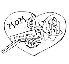 love heart coloring pages cute coloring