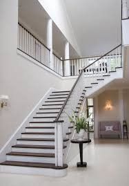 Stair Banister London Stair Banister Ideas Staircase Modern With White Railing