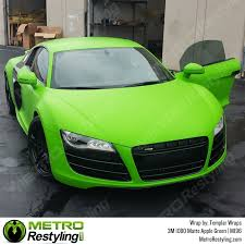 car wrapped in wrapping paper 3m 1080 m196 matte apple green car wrap vinyl is an awesome way of
