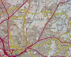 map of oldham domesday reloaded view of moorside oldham from 1986