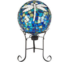 Gazing Ball And Stand 10