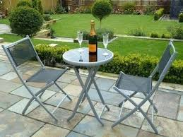 Folding Bistro Table And 2 Chairs Folding Patio Table And Chairs Get Quotations A 3 Bistro Set