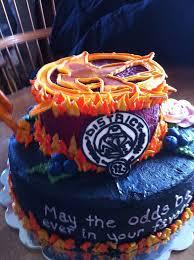 hunger games birthday cake by tentenkitty on deviantart