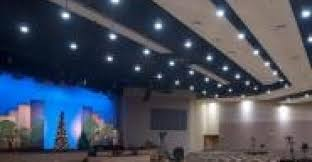 known us dmx controlled led church house light installation