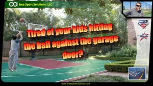 multi game courts backyard in houston youtube