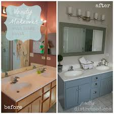 Vanities For Bathrooms by Best 20 Bathroom Vanity Makeover Ideas On Pinterest Paint