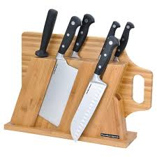 Calphalon Kitchen Knives Select By Calphalon 15 Piece Knife Set 1960939 The Home Depot