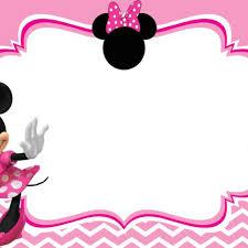 minnie mouse birthday minnie mouse invite template minnie mouse birthday invitation