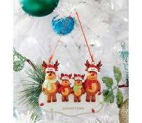 Personalised Reindeer Christmas Tree Decorations by Christmas Baubles U0026 Ornaments Christmas Shop Identity Direct
