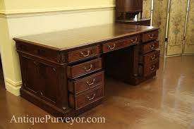 72 inch desk with drawers high end executive leather top desk mahogany desk
