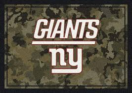 nfl camo 3064 new york giants area rug by milliken carpetmart com