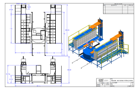 Manufacturing Floor Plan by Design Spare Parts Complete Machine Manufacturing Line