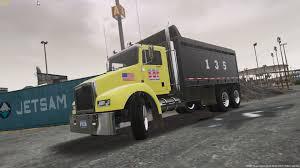 nyc dot dump truck 4k gta5 mods com