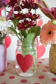 jar vases glittered heart jar vases from scratch with provenzano