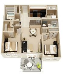 floorplan of a house 2 bedroom apartment house plans
