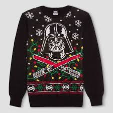 sweaters that light up s wars light up darth vader sweater black