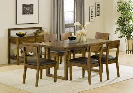Wooden Dining Table Chairs Acacia Wood Dining Table And Chairs Dans Design Magz Idea