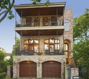 spectacular design three story house plans for narrow lot 9 plans
