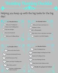 self wedding planner simple wedding planning list