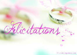carte mariage mariage carte de felicitation mariage