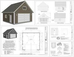 gambrel garage package x gambrel garage barn plans pdf and dwg sdsplans metal 22